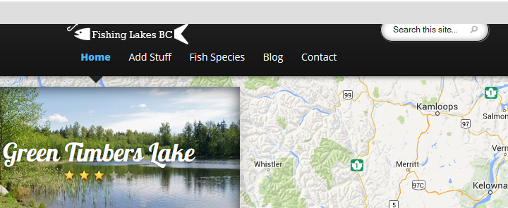 Fishing Lakes BC